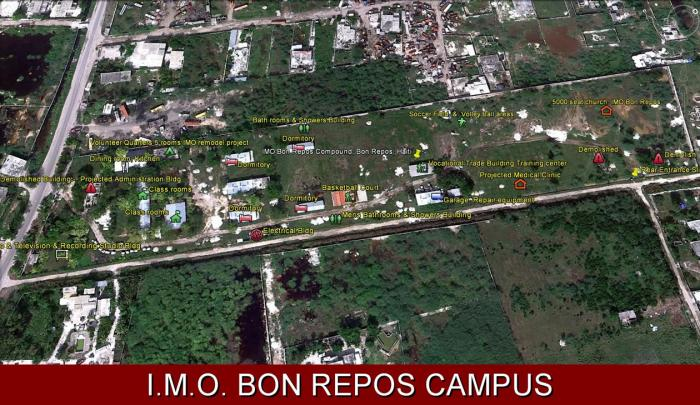 Bon Repos Campus Map - Click To Enlarge