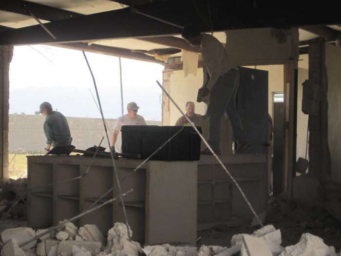 Bon Repos Earthquake Repair