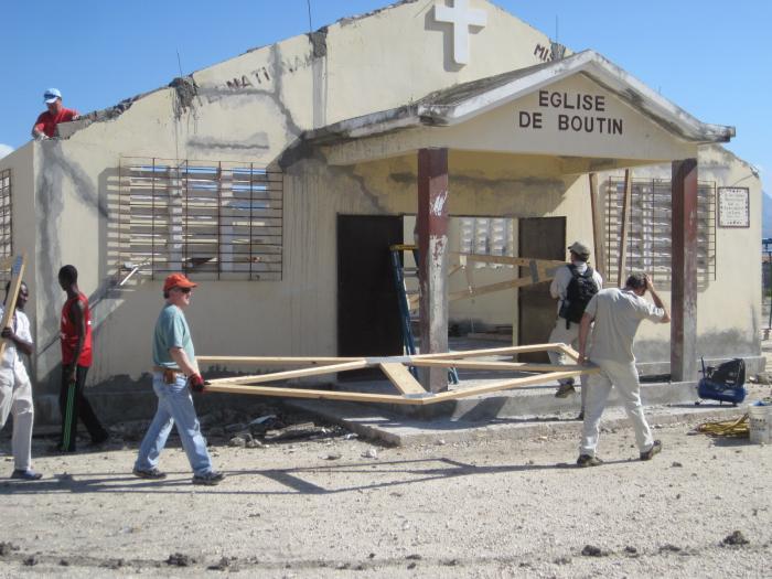 Boutin Earthquake Repair